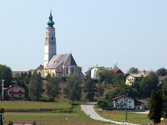 Kirche von Hochburg - Geburtsort von Felix Gruber