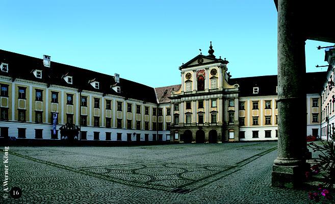 Kloster Kremsmünster, hier studierte Joseph Mohr