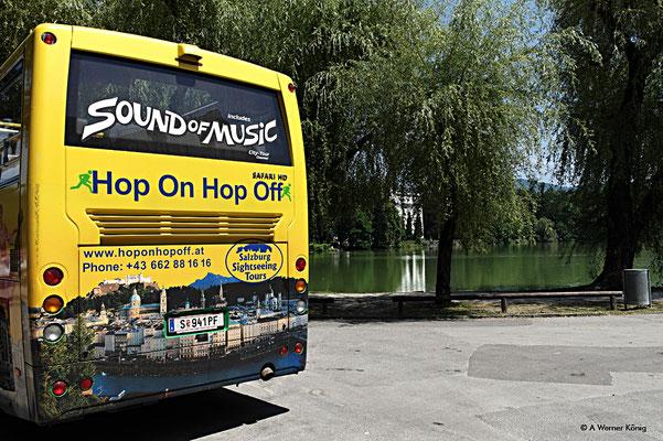 Mit dem Sound of Music Bus auf Entdeckungsreise