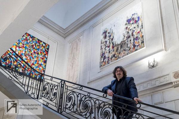 portrait artiste - vernissage - ©Gilles Auteroche - photographe artiste - Montpellier - Narbonne - Béziers - Carcassonne - Perpignan