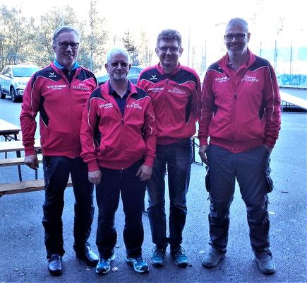Mannschaft 1 mit den Spielern: v.l. Josef Foidl, Rudi Mitterer, Reiter Klaus und Nothegger Sebastian