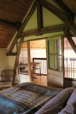 Slaapkamer kleine huis