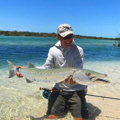 FFTC.club - Fly fishing Bahamas - Crooked and Acklins ISLAND - Barracuda