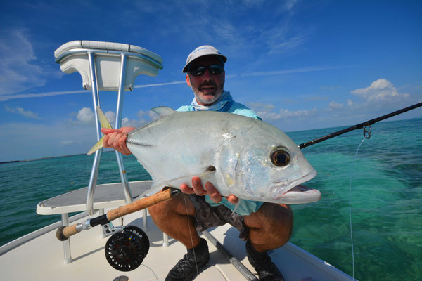 FFTC.club - Fly fishing Bahamas - Crooked and Acklins ISLAND - Permit