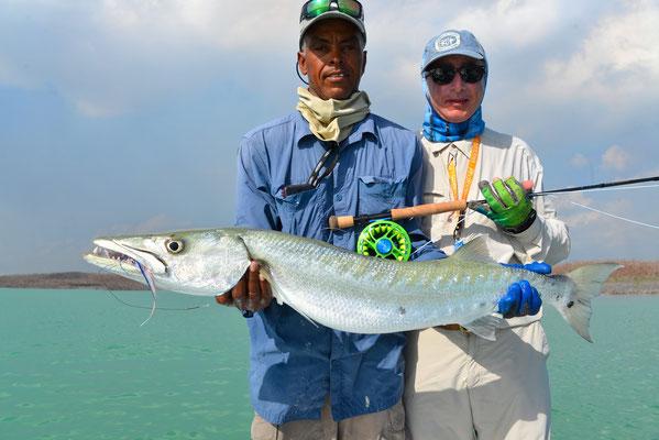 FFTC.club - Fly fishing Bahamas - Crooked and Acklins ISLAND - Bahamas Barracuda fishing