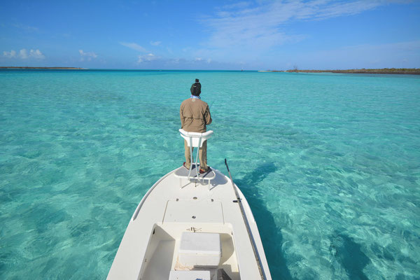 FFTC.club - Fly fishing Bahamas - Crooked and Acklins ISLAND - Shallow water fishing