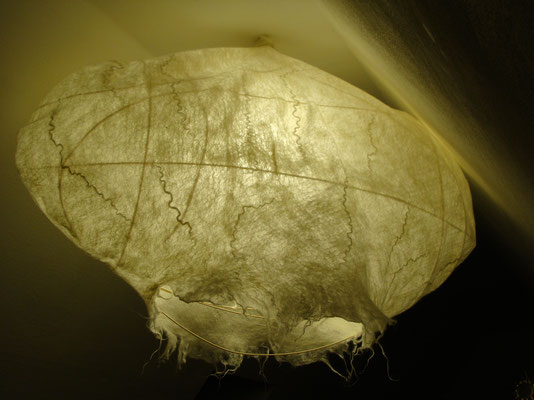 """""""Die große Erleuchtung"""" - Deckenlampe in weiß (Fertigung auf Bestellung - individuell für große und kleine Räume)"""