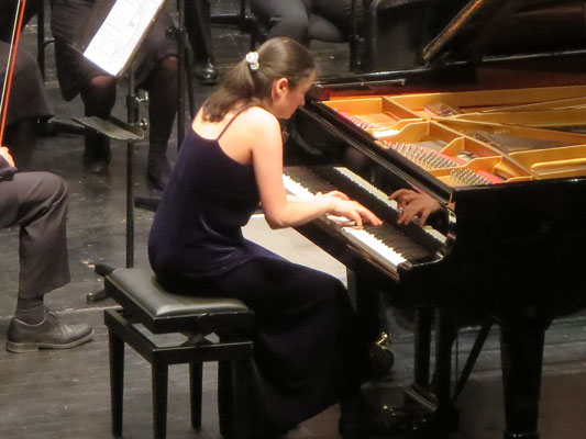 Forum, Ludwigsburg  2015   Performing Tchaikovsky - piano concerto Nr. 1               © Foto: privat
