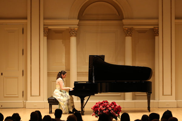 Carnegie Hall (Weill Recital Hall), New York               © Foto: Richard Termine
