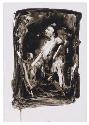 keine BilderIV | 2019 | ink on overhead transparency | 29,7 x 21 cm