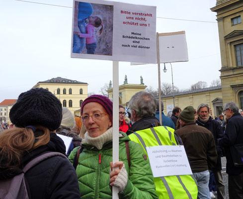 Impressionen vom globalen Aktionstag, STOP 5G!, München, 25.1.2020, Foto JCL