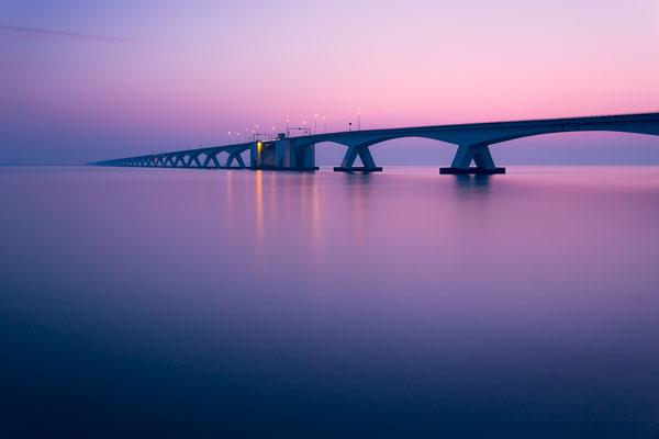 Die Zeelandbrücke in den Niederlanden von Tobias Gawrisch (Xplor Creativity)
