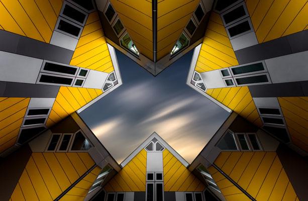 Die Kubushäuser in Rotterdam von Tobias Gawrisch (Xplor Creativity)