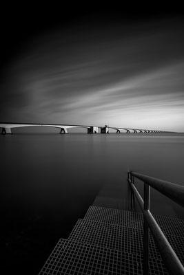 Die Zeelandbrücke in den Niederlanden als Fine Art Vision 2 von Tobias Gawrisch (Xplor Creativity)