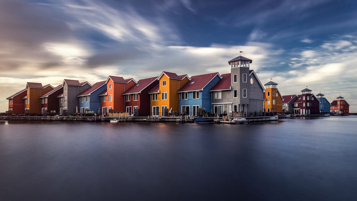 Die bunten Häuser von Groningen von Tobias Gawrisch (Xplor Creativity)