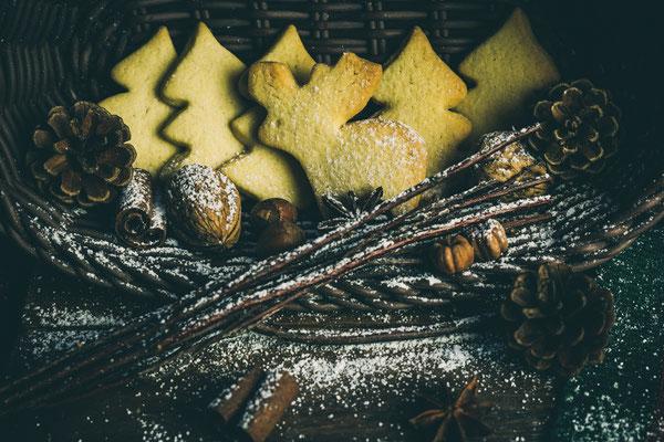 Weihnachtsplätzchen in Tannenform und Elchform von Tobias Gawrisch (Xplor Creativity)