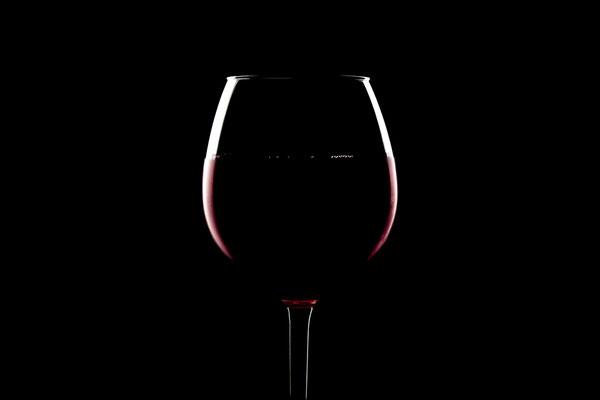 Gekühlter Rotwein im Glas von Tobias Gawrisch (Xplor Creativity)