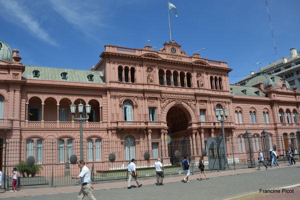 La Casa Rosada : siège du pouvoir exécutif argentin