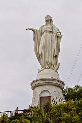 Vierge sur la colline de San Cristobal