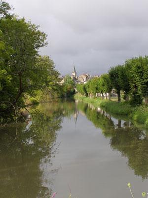 Vue sur Châtillon