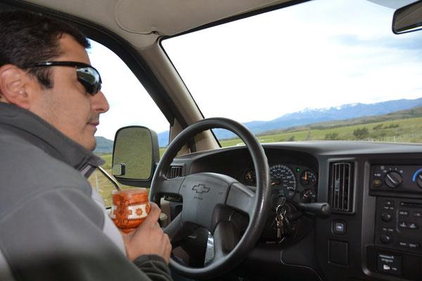 Notre chauffeur