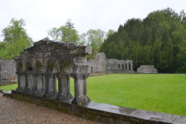 Cong : les vestiges de l'Abbaye
