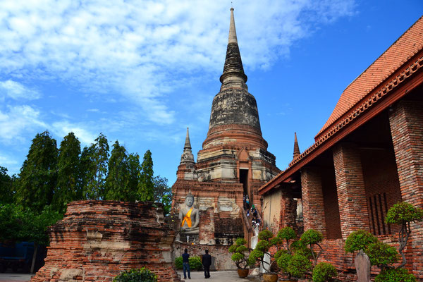 Temples deWat Yaï Chaimonkol et Wat Mongkolphit