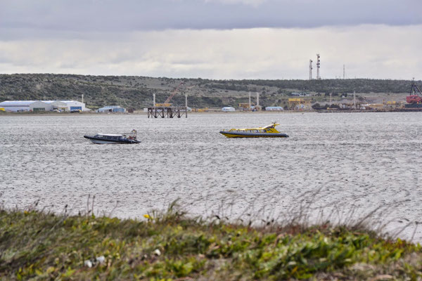 Le port du détroit de Magellan
