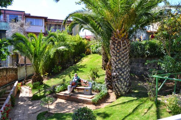 Jardins de la maison de Pablo Néruda