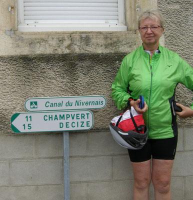 Fin de notre aller Auxerre Cercy La Tour
