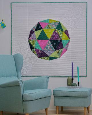 """""""Globe"""" - Pattern by Zen Chic/Brigitte Heitland"""
