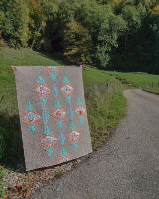 """""""Owls in Diamonds"""" - Pattern by Aylin Nilya"""