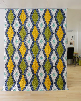"""Medailon Quilt"" - Pattern by Sew Kind of Wonderful"