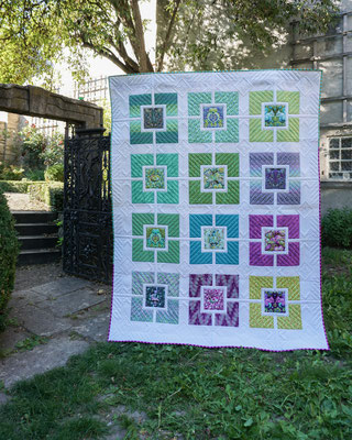 """Tulas All Stars"" - Pattern by Hyacinth Quilt Designs"