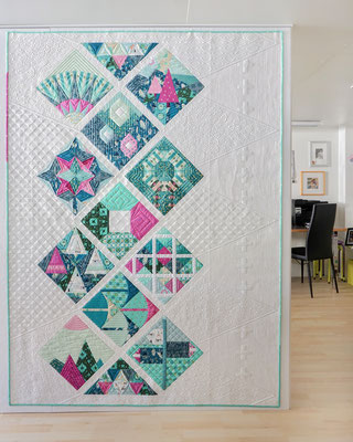 """Swiss Beauty"" - Pattern by Modern Patch Quilt"