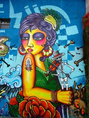 Freestyle graffiti character by Shalak. Sao Paulo, Brazil. 2011
