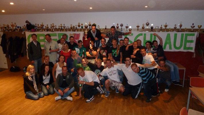 Gruppenbild von der Saisonabschlussfeier 2011
