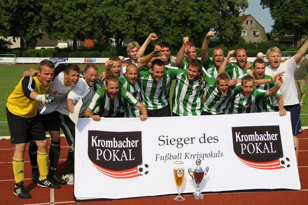 Kreispokalgewinn 2011