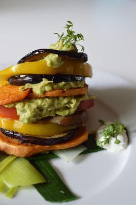 ein Gemüseburger für die Burger-Fans