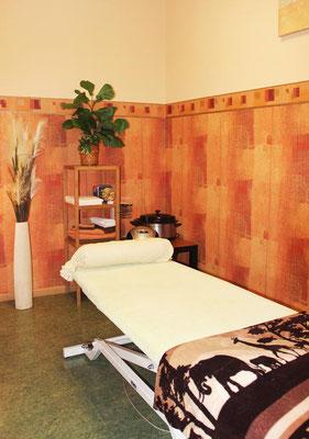 Physiotherapie am Markt - Entspannungsraum