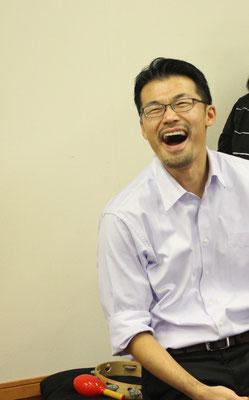この笑顔が祝会の雰囲気をあらわしています