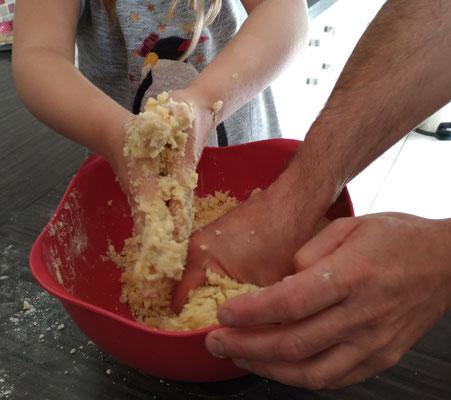 La cuisine à quatre mains