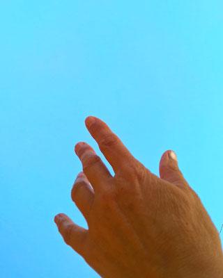 A ciel ouvert ou sans rien cacher mais surtout à portée de mains ou presque
