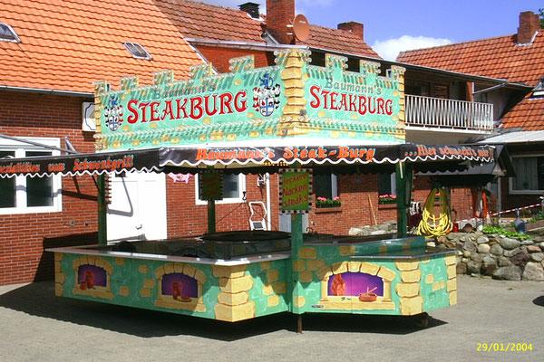 Baumanns Grillparadies, Steakburg, Burger Point, Imbiss, Grillbuffet,