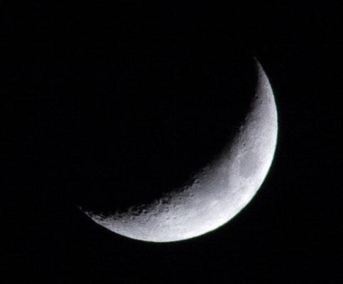 Mond am 05.01.2014
