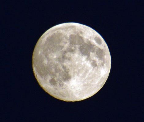 Mond am 21.07.2013