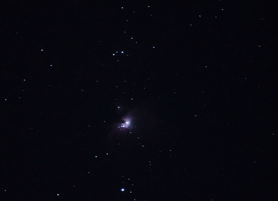 Orion-Nebel am 12.02.2014