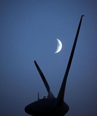 31.08.2014 (zunehmend) - mit Saturn