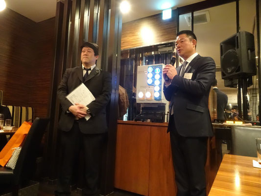アパホテル株式会社代表取締役専務元谷様と池田監督