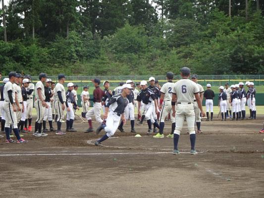 野球教室の風景